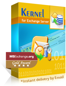 Kernel for Exchange Server Recovery box