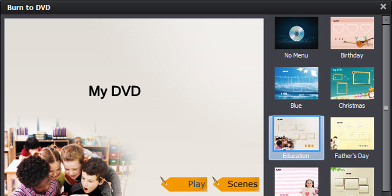 video converter ultimate dvd template