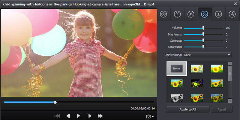 Video Converter Ultimate Video Editing